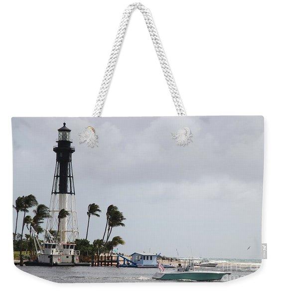 Inlet Light Hillsboro Weekender Tote Bag