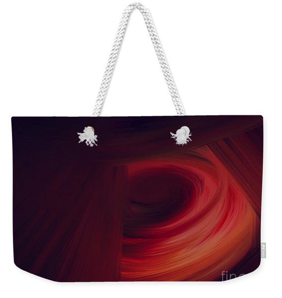 Inner Earth Weekender Tote Bag