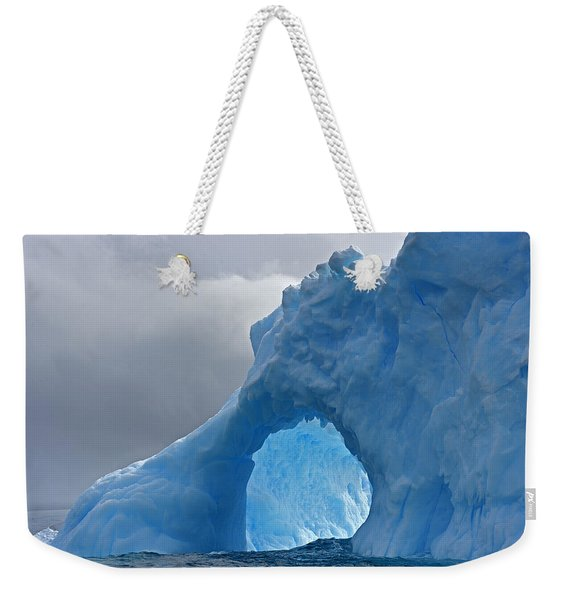 Inner Mounting Flame Weekender Tote Bag