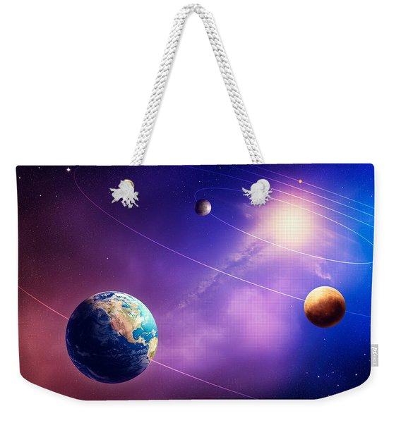 Inner Solar System Planets Weekender Tote Bag