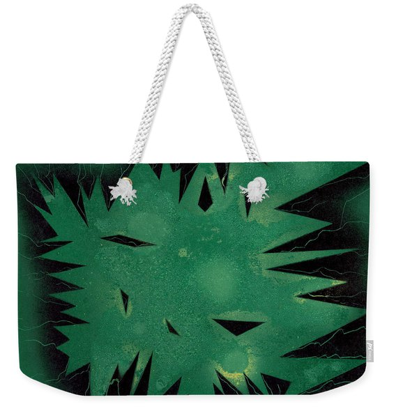 Inner Space Weekender Tote Bag