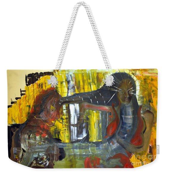 Innocence Of Youth Weekender Tote Bag