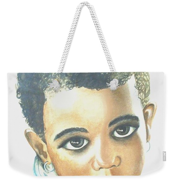 Innocent Sorrow Weekender Tote Bag