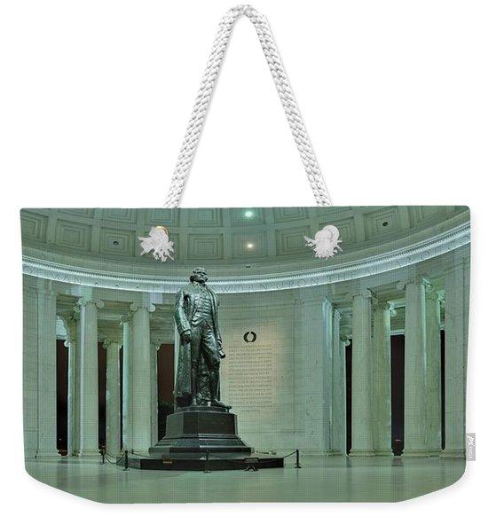 Inside The Jefferson Memorial Weekender Tote Bag