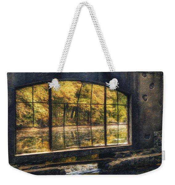 Inside The Old Spring House Weekender Tote Bag