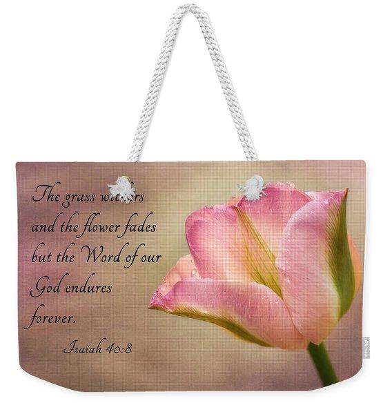 Inspirational Tulip Weekender Tote Bag
