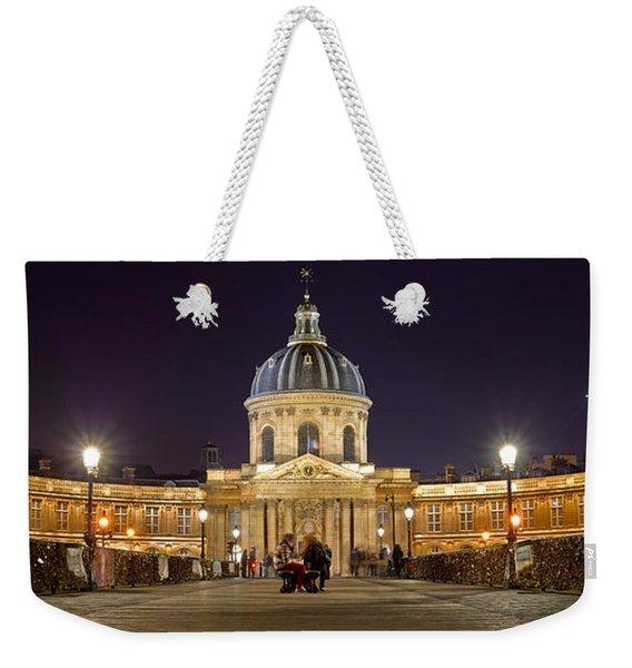 Institute De France From Pont Des Arts Weekender Tote Bag