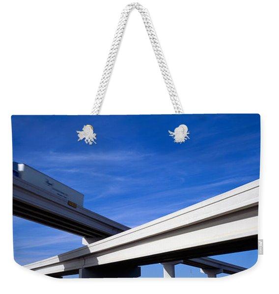 Interchange, Texas, Usa Weekender Tote Bag