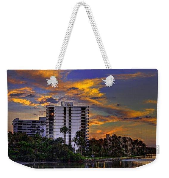 Intercoastal Sky Weekender Tote Bag