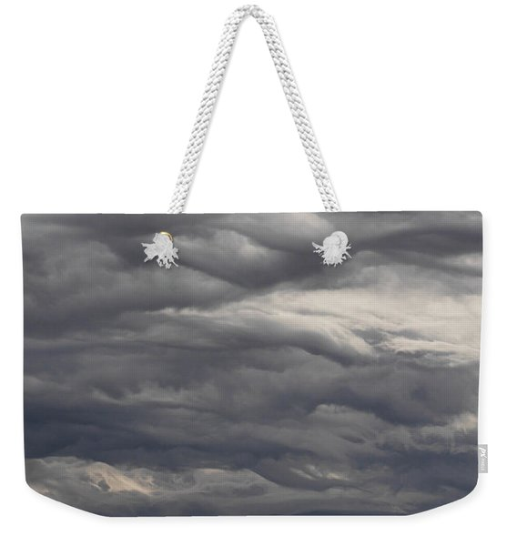 Interesting Cloud Formations Stack Weekender Tote Bag