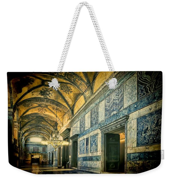 Interior Narthex Weekender Tote Bag