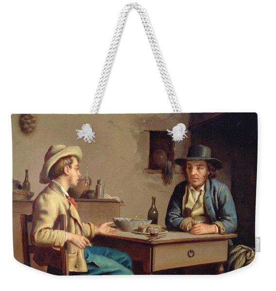 Interior Of A Peasants Cottage, C.1903  Weekender Tote Bag
