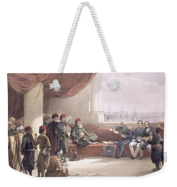 Interview With The Viceroy Of Egypt Weekender Tote Bag