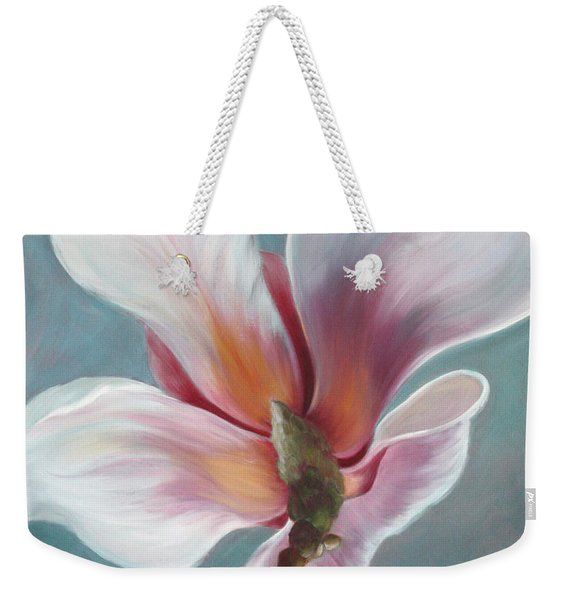 Weekender Tote Bag featuring the painting Intimate Apparel by Sandi Whetzel