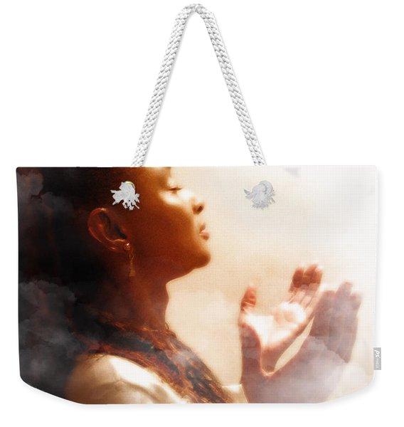 Into His Glory Weekender Tote Bag