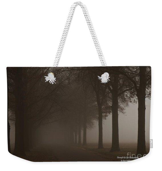 Into The Fog Weekender Tote Bag