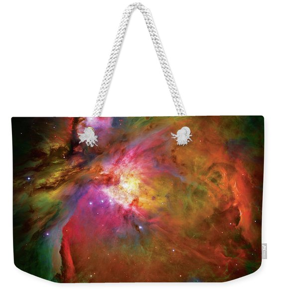 Into The Orion Nebula Weekender Tote Bag