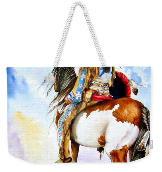 Into The Promised Land Weekender Tote Bag