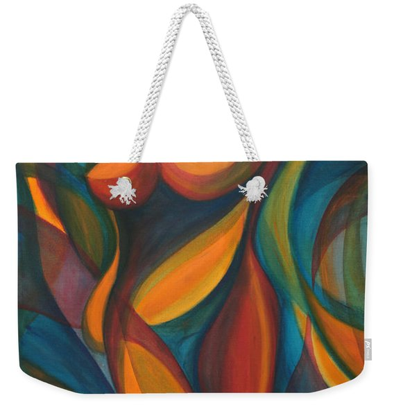 Into The Reeds Weekender Tote Bag