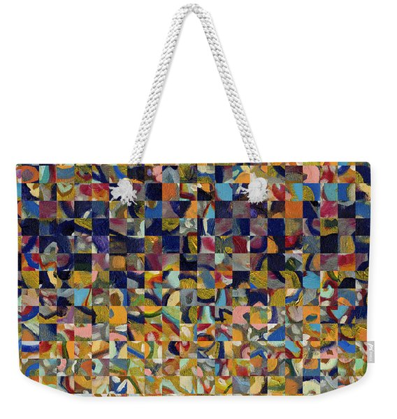 Into The Rubble We Walk Weekender Tote Bag