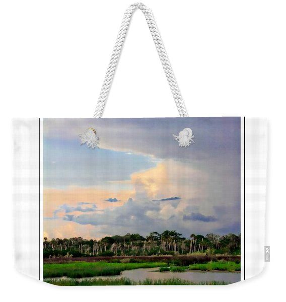 Intracoastal Colours Weekender Tote Bag