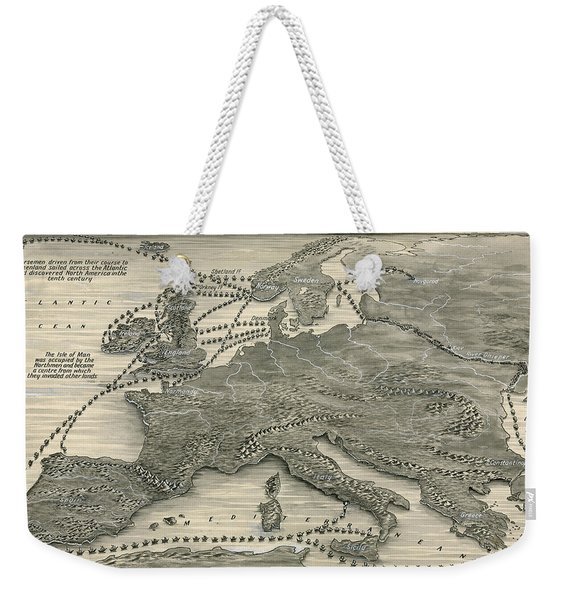 Invasions By The Norsemen Weekender Tote Bag