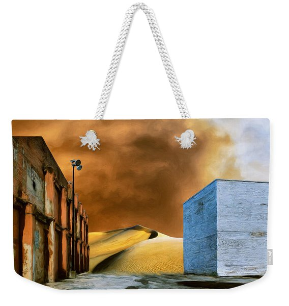 Investigation Weekender Tote Bag