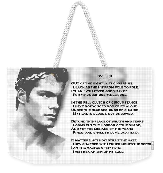 Invictus Weekender Tote Bag