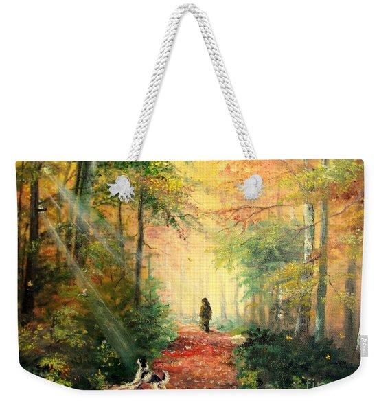 Invitation To Walk   Weekender Tote Bag
