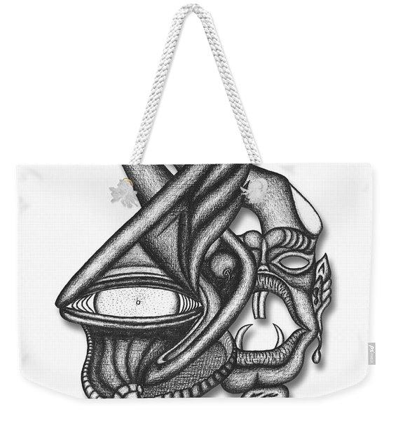 Ion Tiki Weekender Tote Bag