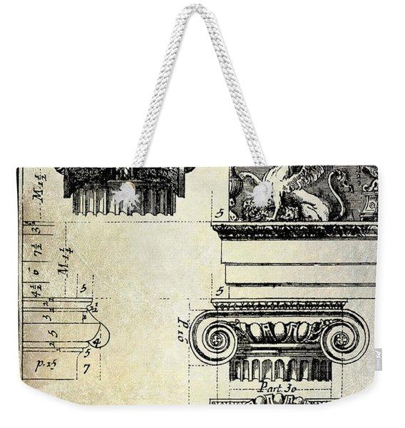 Ionic Capitol Weekender Tote Bag