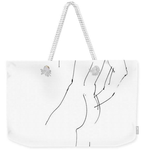 iPhone-Case-Nude-Male2 Weekender Tote Bag