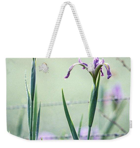Irises2 Weekender Tote Bag