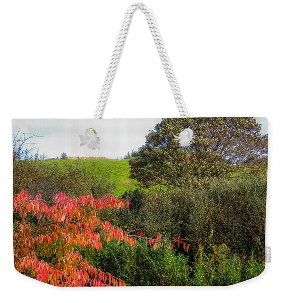 Irish Autumn Countryside Weekender Tote Bag