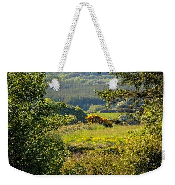 Irish Countryside In Spring Weekender Tote Bag