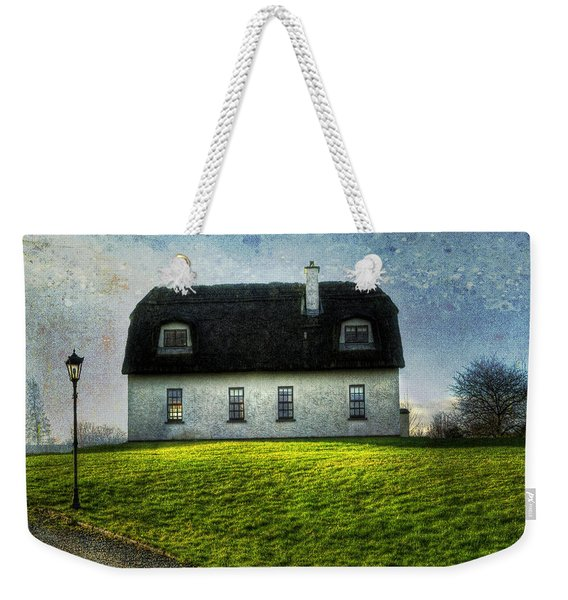 Irish Thatched Roofed Home Weekender Tote Bag