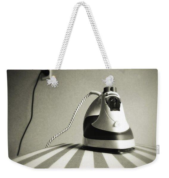 Iron Weekender Tote Bag