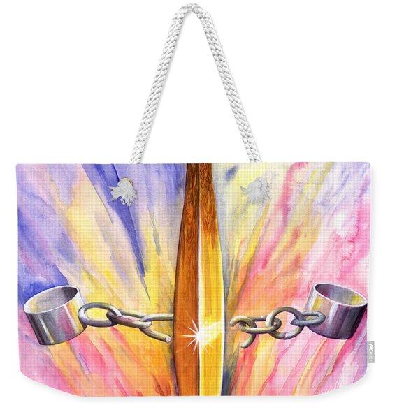 Isaiah 61 Weekender Tote Bag