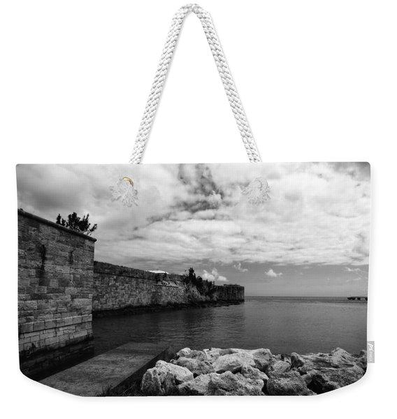 Island Fortress  Weekender Tote Bag