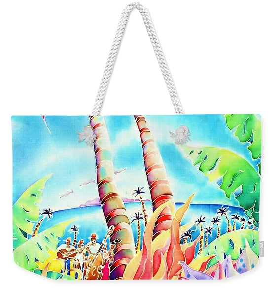 Island Of Music Weekender Tote Bag