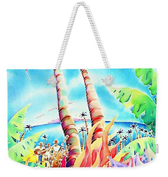 Island Of Music Weekender Tote Bag