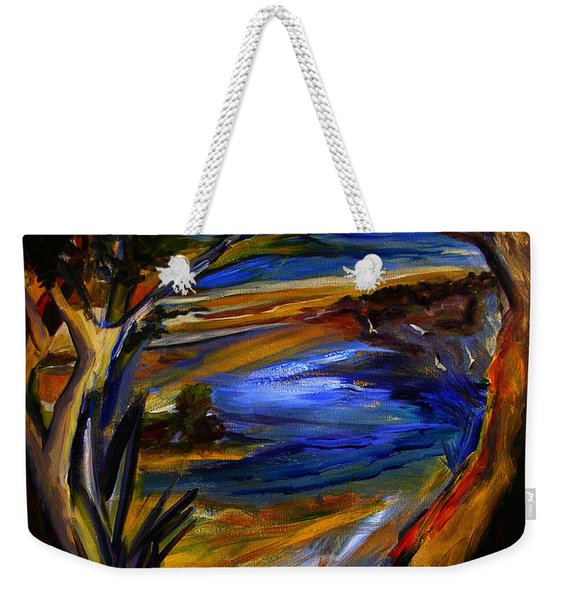 Island Waters St. Kitts Weekender Tote Bag