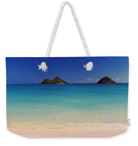 Islands In The Pacific Ocean, Lanikai Weekender Tote Bag