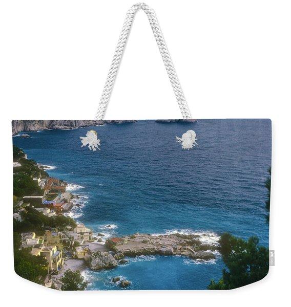 Isle Of Capri Weekender Tote Bag