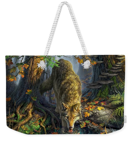 Isle Royale Fall Weekender Tote Bag