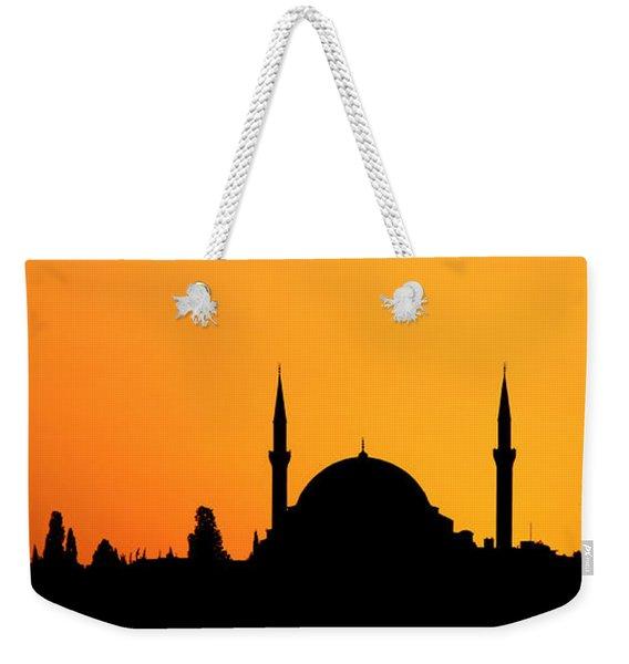 Istanbul Sunset Weekender Tote Bag