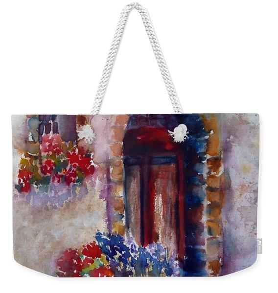 Italian Door Weekender Tote Bag