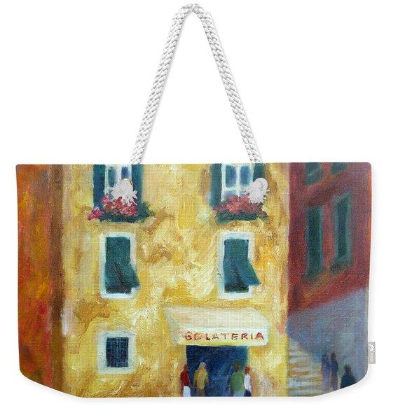 Italian Gelateria Weekender Tote Bag
