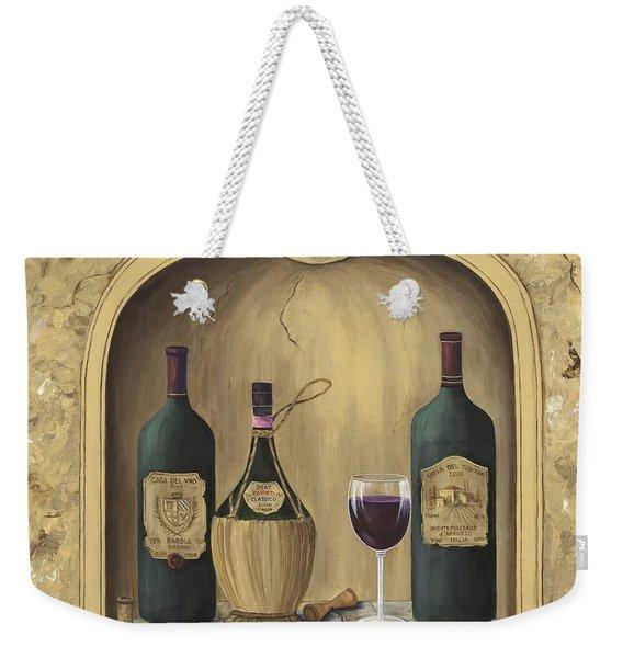 Italian Reds Weekender Tote Bag