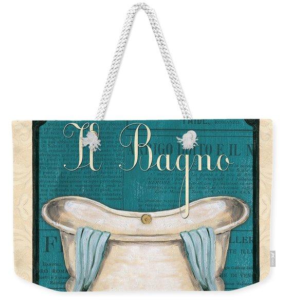 Italianate Bath Weekender Tote Bag
